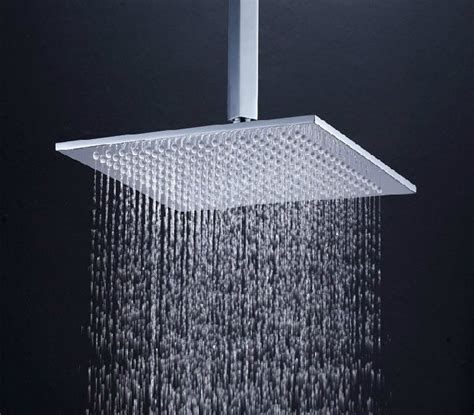 Rain Shower Images by 10 Quot Square Brass Bathroom Rain Shower Head In Chrome