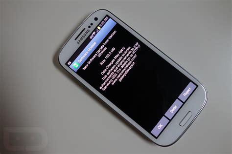 update verizon phone verizon galaxy s3 update to android 4 1 2 already rolling