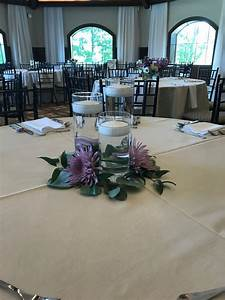 Pin, By, Blooms, Floral, Design, On, Candle, Centerpieces