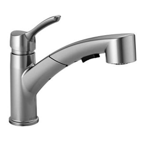 delta faucets warranty delta 4140 ar dst arctic stainless collins pull out spray