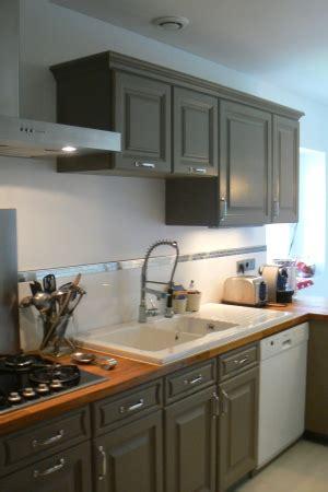 recouvrir meuble cuisine adhesif maison design bahbe
