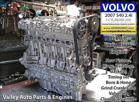 volvo   engine rebuild los angeles machine