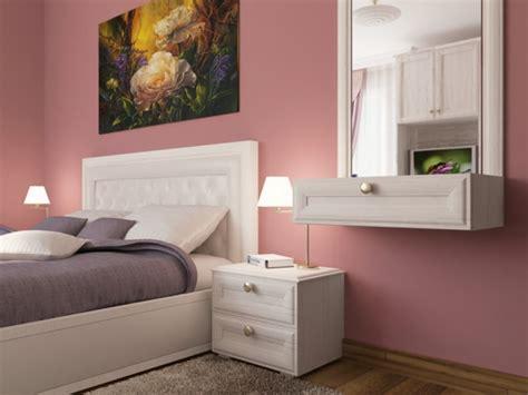 deko ideen schlafzimmer altrosa altrosa als wandfarbe frische farbgestaltung