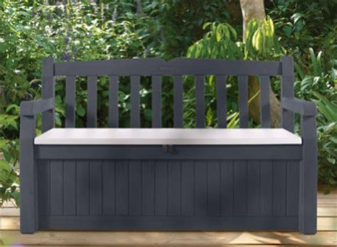 banc de jardin en pvc banc de jardin en pvc avec coffre rangement