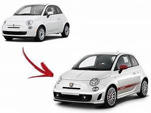 Feu Arriere Fiat 500 : pare chocs avant fiat 500 abarth kit complet 2007 2015 ~ Melissatoandfro.com Idées de Décoration