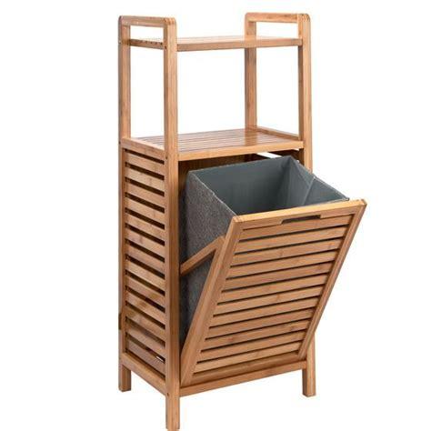 Badezimmer Regal Mit Wäschekorb by Big Bamboo Regal Mit W 228 Schekorb In 2019 Einrichtung