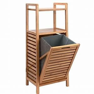 Schrank Mit Integriertem Wäschekorb : big bamboo regal mit w schekorb in 2019 einrichtung badezimmer w schekorb und w sche ~ Eleganceandgraceweddings.com Haus und Dekorationen