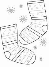 Socks Coloring Pair Sock Pagina Paia Calzini Dei Socken Clipart Sokken Kleuren Paar Colorano Che Template Fox Paare Faerben Seite sketch template