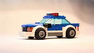 Lego City Police Car Building Instructions