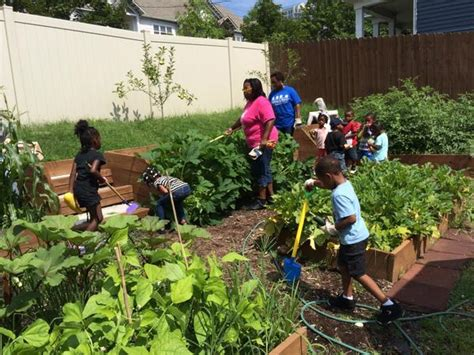 creating childcare center production gardens nc state