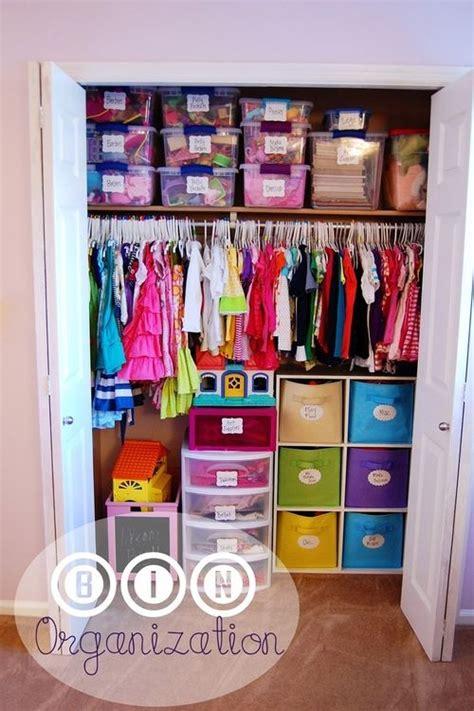 Child Closet Organization Ideas by 10 Organization Ideas And Tips Playroom Room