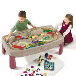 little tikes train table deluxe canyon train track table best educational infant