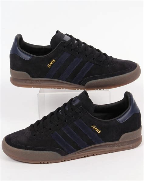 Original Blue Black adidas trainers black navy blue originals shoes mens