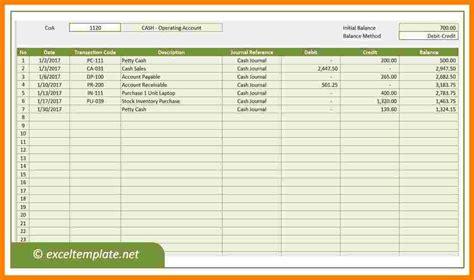ledger spreadsheet ledger review