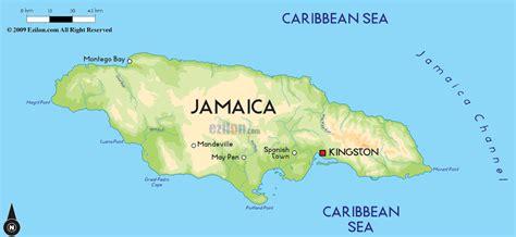 road map  jamaica  jamaica road maps