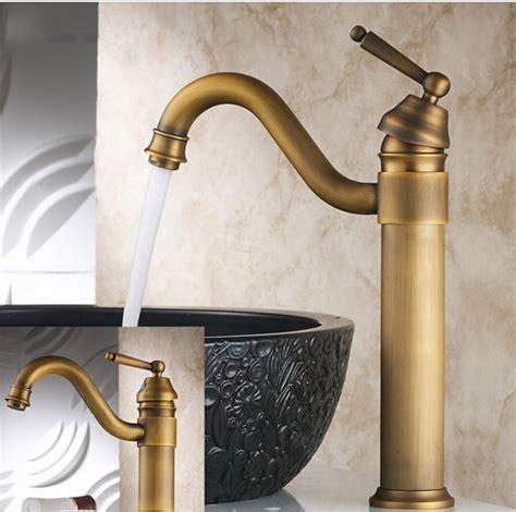 vintage style bathroom sinks vintage style tall antique basin faucet brass bathroom