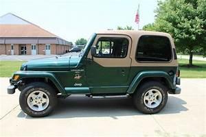 Sell Used 2000 Jeep Wrangler  Low Miles Manual Sahara