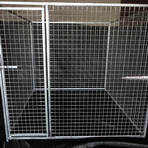 Dog kennelsdog runsdog cratesdog cages minvoki for Dog run cage enclosure