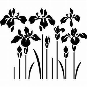 sticker vallee iris stickers fleurs arbres ambiance With chambre bébé design avec tapis champ de fleurs pharmacie
