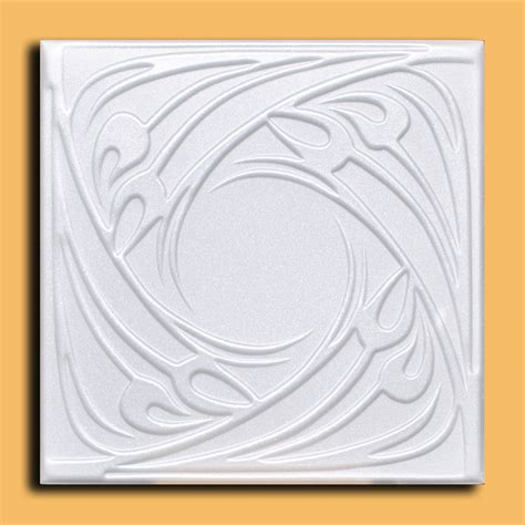40 pc 108 sq ft lot of r48w white ceiling tile 20x20