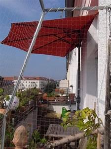 Halbe Sonnenschirme Für Balkon : balkon leben oder der halbe sonnenschirm tierischwohnen ~ Lizthompson.info Haus und Dekorationen