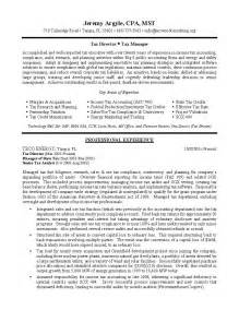 resume for director level position tax director sle resume professional resume writing services