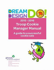 Troop Cookie Manager Manual