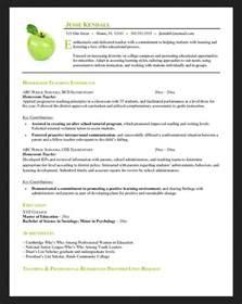 objective preschool resume homeroom preschool resume objective resumes design