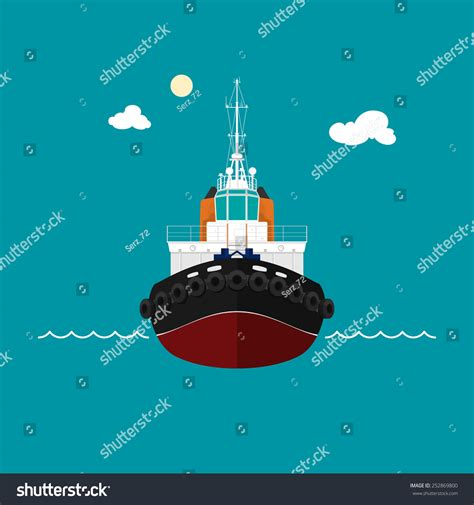 Tugboat Wages by Tugboat A Front View Of The Push Boats Tow Boat For To