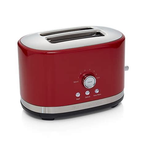 kitchenaid red  slice toaster  toasters toaster ovens