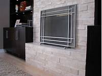 modern fireplace screens How to choose the right fireplace screens and 50 unique ...