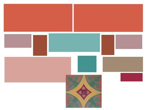 terracotta color palette created my color scheme