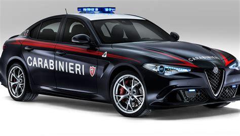 Nuova Giulia Carabinieri Bolide Da 300 Kmh  Virgilio Motori