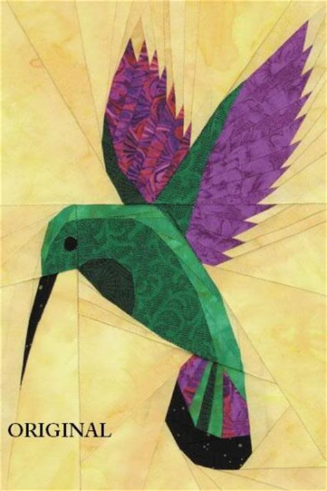 hummingbird quilt cross stitch pattern birds etp