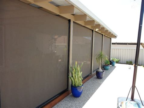 how to choose the right outdoor blinds for patio outdoor