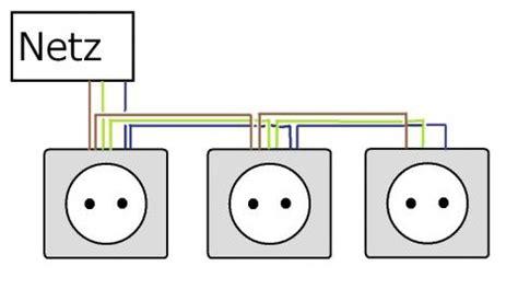 lichtschalter anschließen 3 adern 3 up steckdosen richtig installieren neulingsfrage