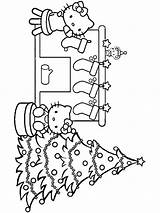 Coloring Christmas Pages Chimneys Printable sketch template