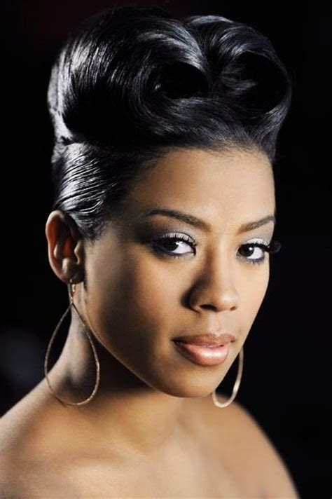 Keyshia Cole Black Hairstyles by Keyshia Cole Wedding Updo Hairstyle Thirstyroots