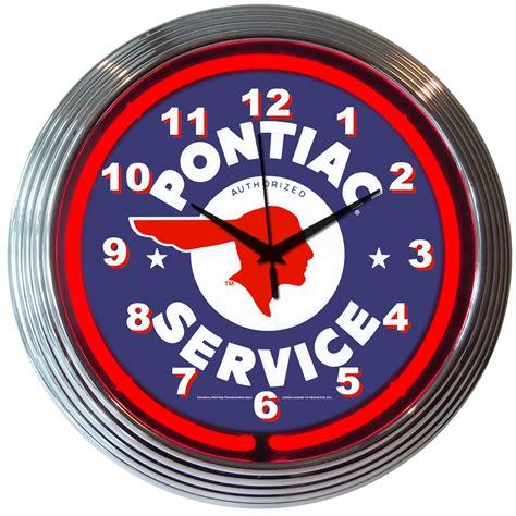 lighted clocks for sale general motors neon clocks gm neon wall clocks for sale