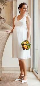 Hochzeitskleid Standesamt Schwanger : umstandsmode brautkleid kurz ~ Frokenaadalensverden.com Haus und Dekorationen
