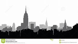 City Skyline New York Vector - Download From Over 36 ...