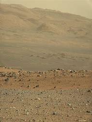 Mars Curiosity Rover Landscape