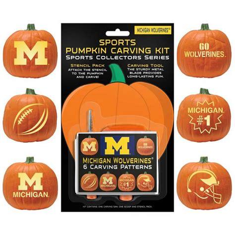 university  michigan pumpkin carving kit includes