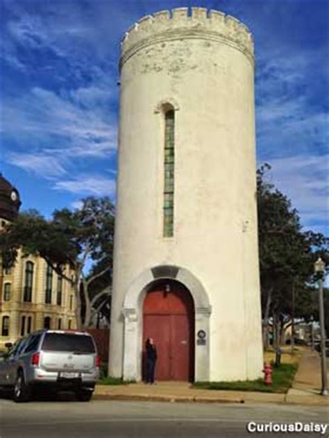 confederate museum   water tower columbus texas