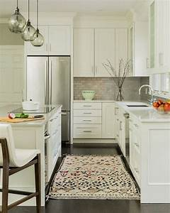 25 best small kitchen remodeling ideas on pinterest for Kitchen colors with white cabinets with art for large wall spaces