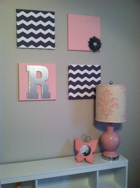 Bedroom Wall Decor Ideas Diy by 12x12 Canvas Wrapped In Material Toddler Bedroom