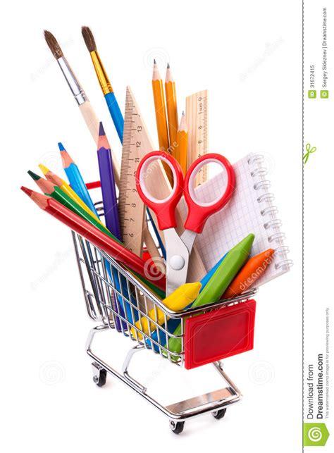 bureau fournitures fournitures de bureau d 39 école ou outils de dessin dans un