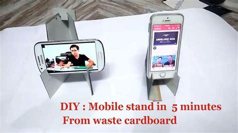 diy phone stand for desk diy craft mobile phone stand for desk how to make mobile