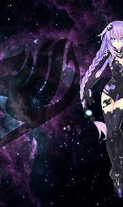 High Res Purple Anime Desktop Background - High Definition ...