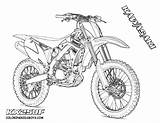 Coloring Motocross Pages Boys sketch template